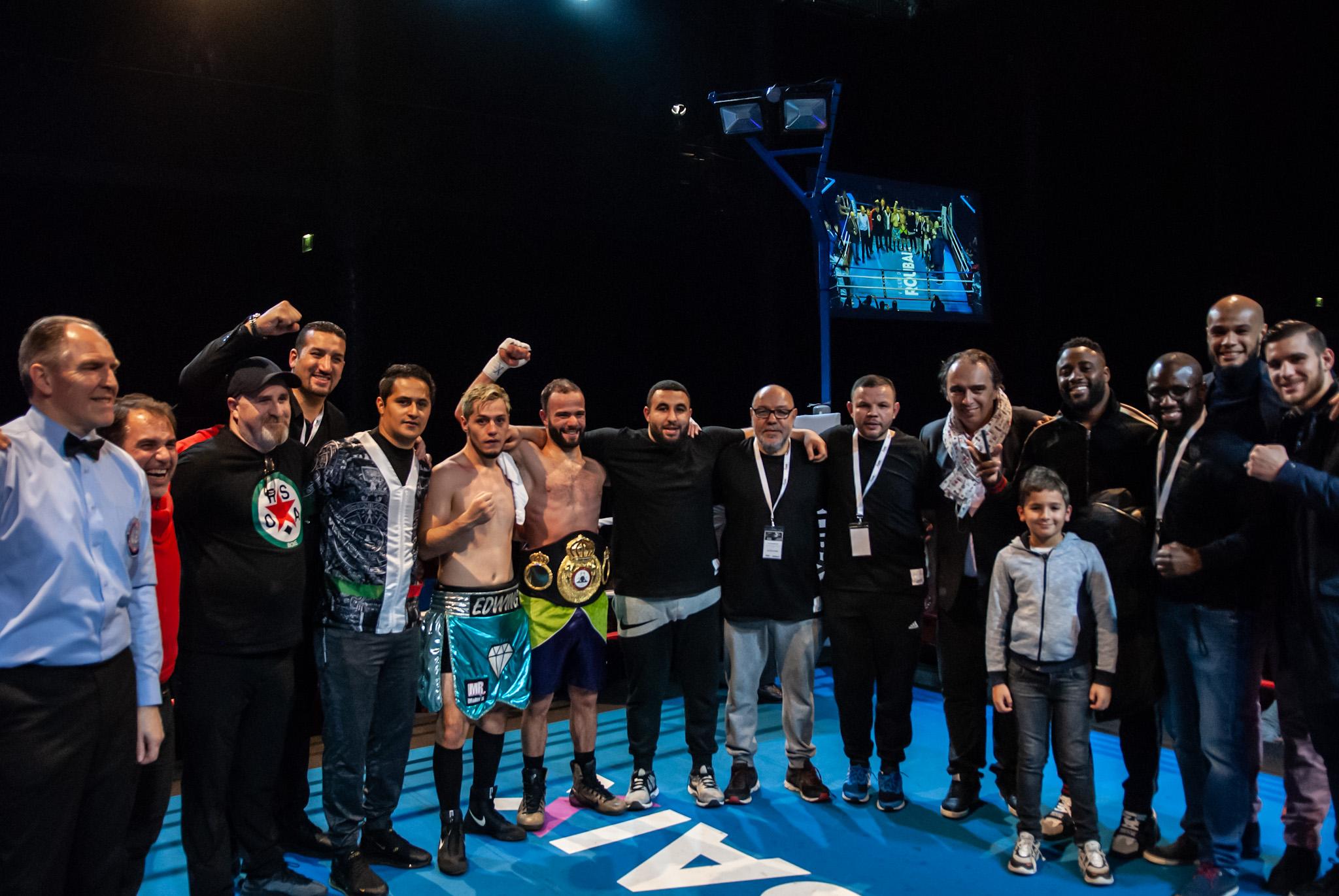 Maidin El Garni, vainqueur de la ceinture WBA Intercontinentale